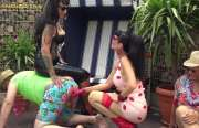 ab18.de Privatvideos: Carmen Rivera & Lady Vampira are celebra